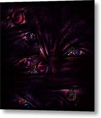 The Deceiver Metal Print by Rachel Christine Nowicki