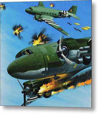 The Dependable Dakota Metal Print by Wilf Hardy