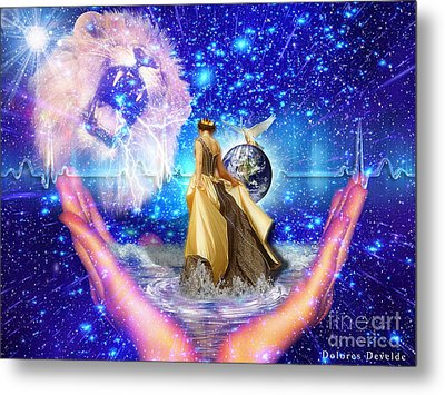 The Depth Of Gods Love Metal Print by Dolores Develde