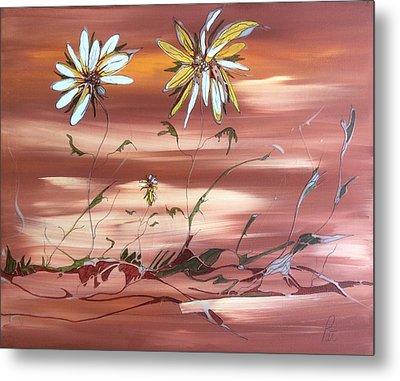 The Desert Garden Metal Print