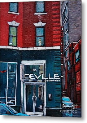 The Deville Metal Print by Reb Frost