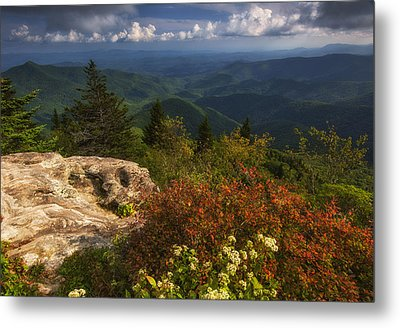 The Devil's Courthouse Metal Print