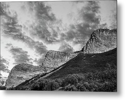 The Devil's Stair-steps Metal Print