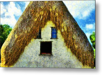 The Disheveled House - Da Metal Print by Leonardo Digenio