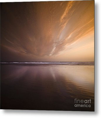 The Distant Horizon Metal Print by Angel  Tarantella