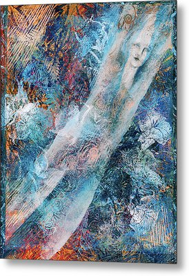 The Diver Metal Print by Sue Reed