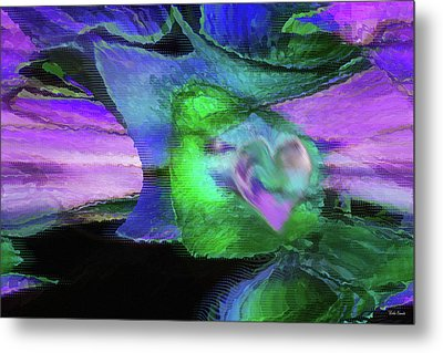The Divine Presence Metal Print by Linda Sannuti