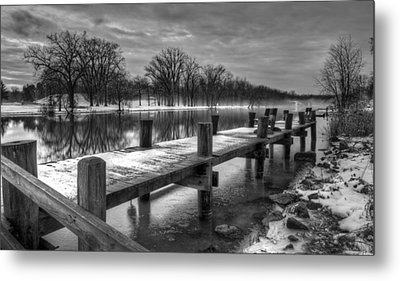 The Dock Metal Print by Everet Regal