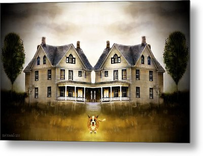 The Dog House Metal Print