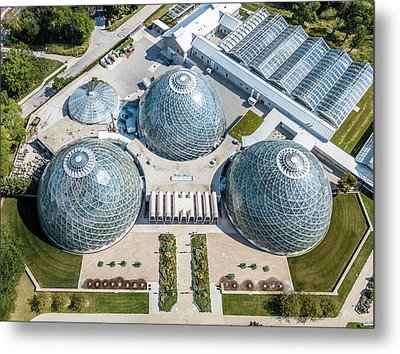 Metal Print featuring the photograph The Domes by Randy Scherkenbach