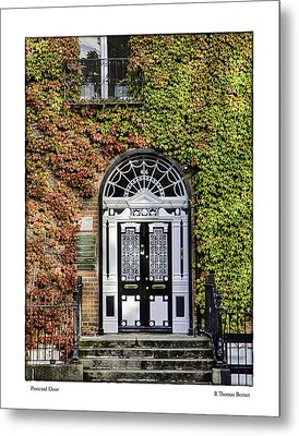 Metal Print featuring the photograph The Door by R Thomas Berner