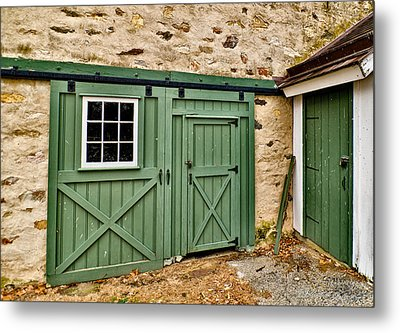 Metal Print featuring the photograph The Door by Robert Culver