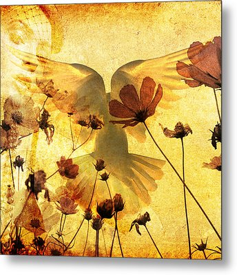 The Dove Metal Print by Tommytechno Sweden