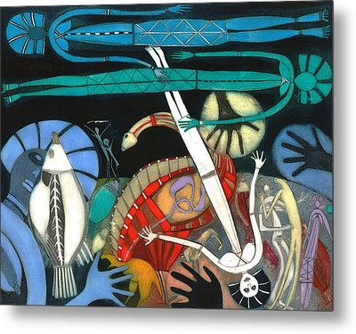 The Dream Of The Fish Metal Print by Annael Anelia Pavlova