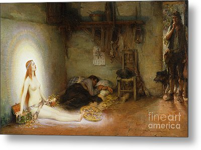 The Dream Metal Print by Pierre Justin Ouvrie