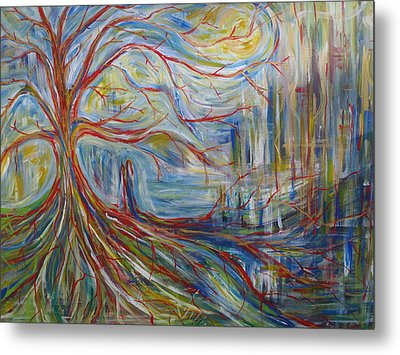 The Dreaming Tree Metal Print by Made by Marley