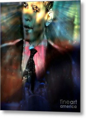 The Dreams Of Obama Metal Print by Wbk