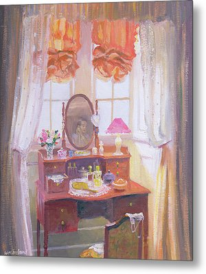 The Dressing Table Metal Print