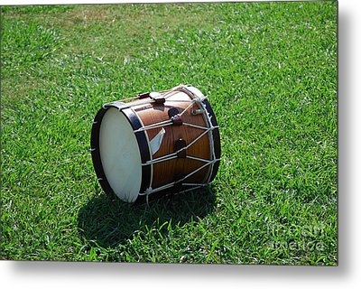 The Drum Metal Print by Eric Liller