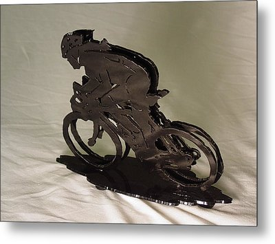 The Duel Metal Print by Steve Mudge