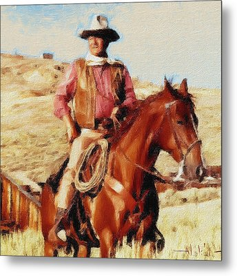 The Duke Metal Print