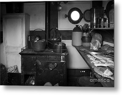 The Dunbrody Crew's Kitchen Metal Print