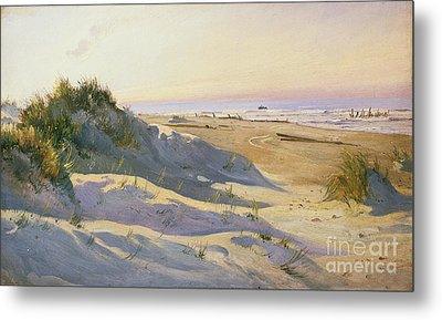 The Dunes Sonderstrand Skagen Metal Print