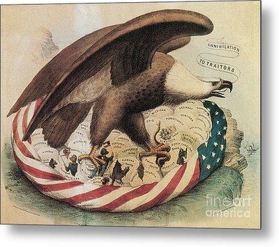 The Eagles Nest, 1861 Metal Print