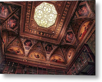 Metal Print featuring the photograph The East Room Ceiling by Jessica Jenney