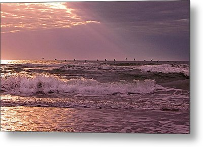 The Edge  Metal Print by Betsy Knapp