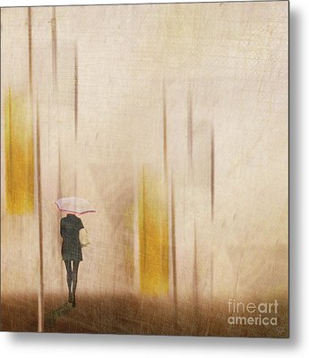 Metal Print featuring the photograph The Edge Of Autumn by LemonArt Photography