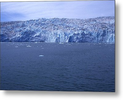 The Edge Of Columbia Glacier, Alaska Metal Print by Stacy Gold