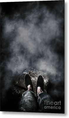 The Edge Of The Unknown Metal Print