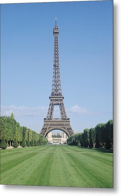 The Eiffel Tower Metal Print by French School