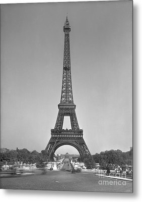 The Eiffel Tower Metal Print by Gustave Eiffel