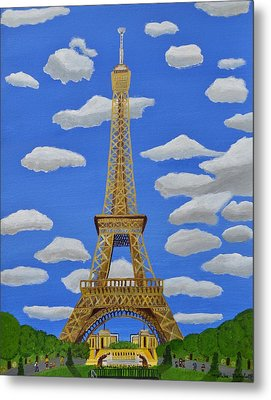 The Eiffel Tower  Metal Print by Magdalena Frohnsdorff