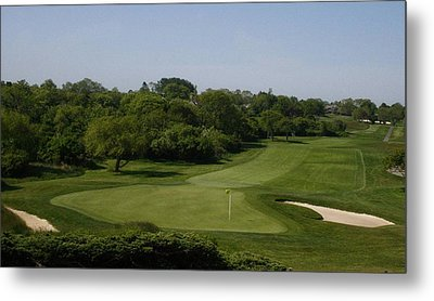 The Eighteenth At Montauk Downs Metal Print