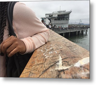 The Embarcadero Metal Print