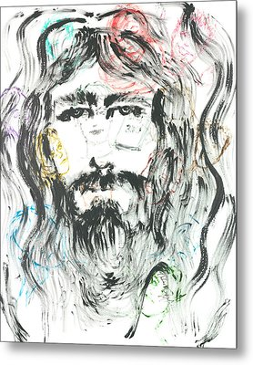 The Emotions Of Jesus Metal Print by Nadine Rippelmeyer