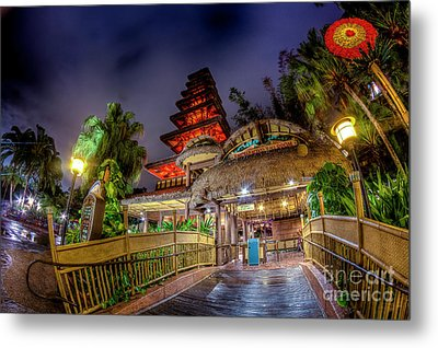 The Enchanted Tiki Room Metal Print