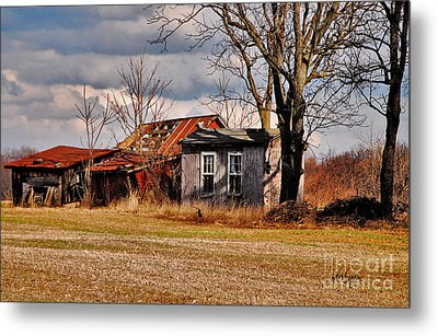 The End Of Days Metal Print by Lois Bryan