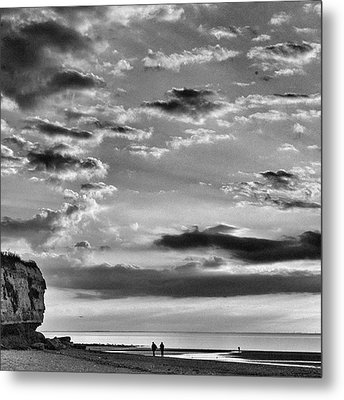 The End Of The Day, Old Hunstanton  Metal Print