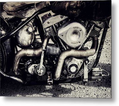 Metal Print featuring the photograph The Engine by Ari Salmela