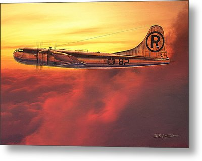 Enola Gay B-29 Superfortress Metal Print by David Collins