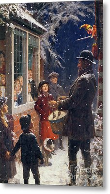 The Entertainer  Metal Print by Percy Tarrant