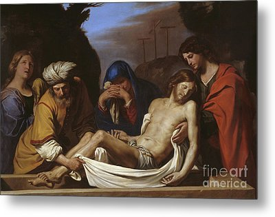 The Entombment Metal Print