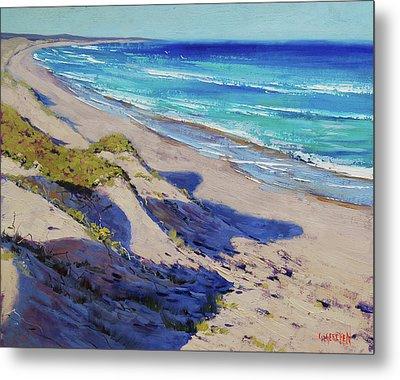The Entrance Beach Dunes, Australia Metal Print by Graham Gercken