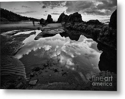 The Entrance To The Other World Metal Print by Masako Metz