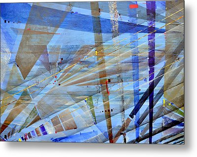 The Ephemeral Nature Of Vision Metal Print