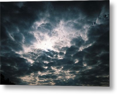 Metal Print featuring the photograph The Essence Above by Kicking Bear  Productions